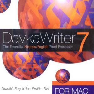 DavkaWriter 7 MAC - Hebrew English Desk Top Publishing