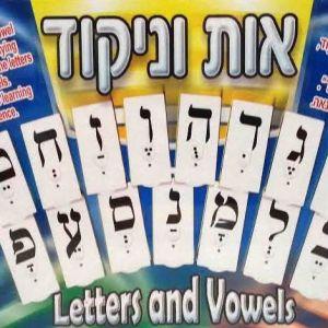 Large Flash Cards Letters & Vowels