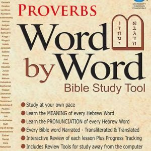DOWNLOAD - Word By Word - Proverbs, Mishlei