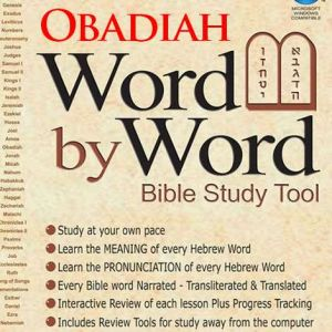 DOWNLOAD - Word By Word - Obadiah, Ovadiah
